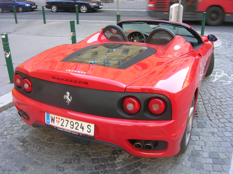 A Ferrari Modena